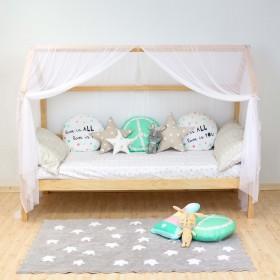 Sawyer cama casita opción arrastre con barandilla (removible) 90x190cm