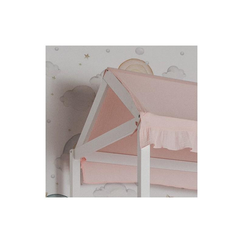 Conjunto textil para MU0311 litera Montessori rosa