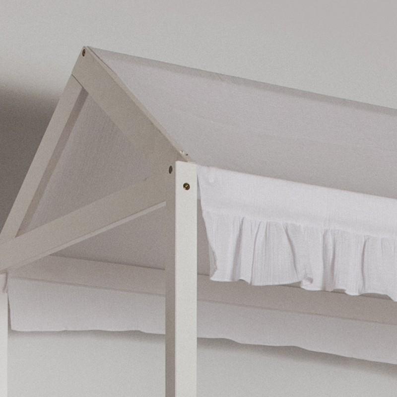 Conjunto textil para MU0311 litera Montessori blanco