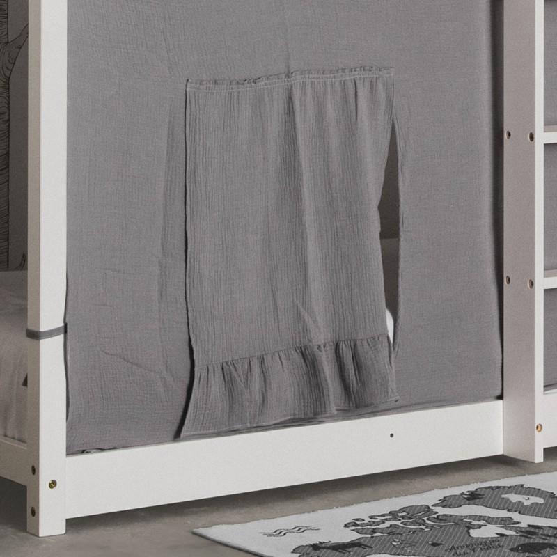 Conjunto textil para MU0311 litera Montessori gris